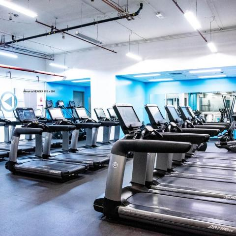 Activate Fit Gym Cardio Space Image