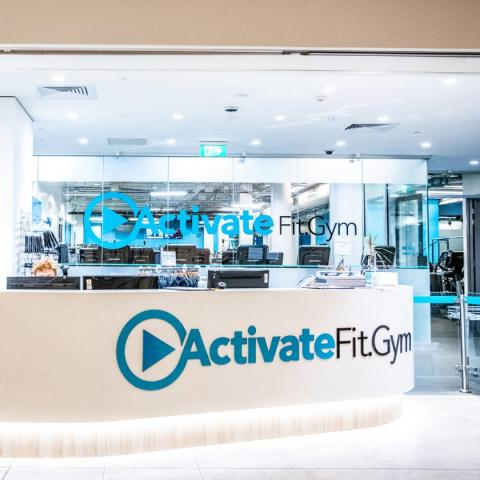 Activate Fit Gym Reception Image