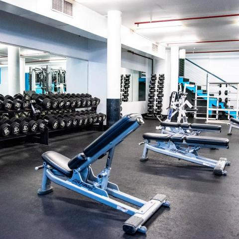 Activate Fit Gym Weight Room Alternative Angle Image
