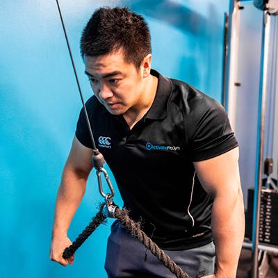 Picture of Activate UTS personal trainer Henry