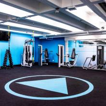 Activate Fit Gym Stretching Room Image