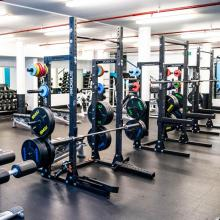 Activate Fit Gym Weights Room Image