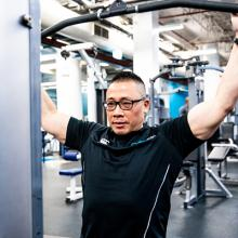 Picture of Activate UTS personal trainer Shen